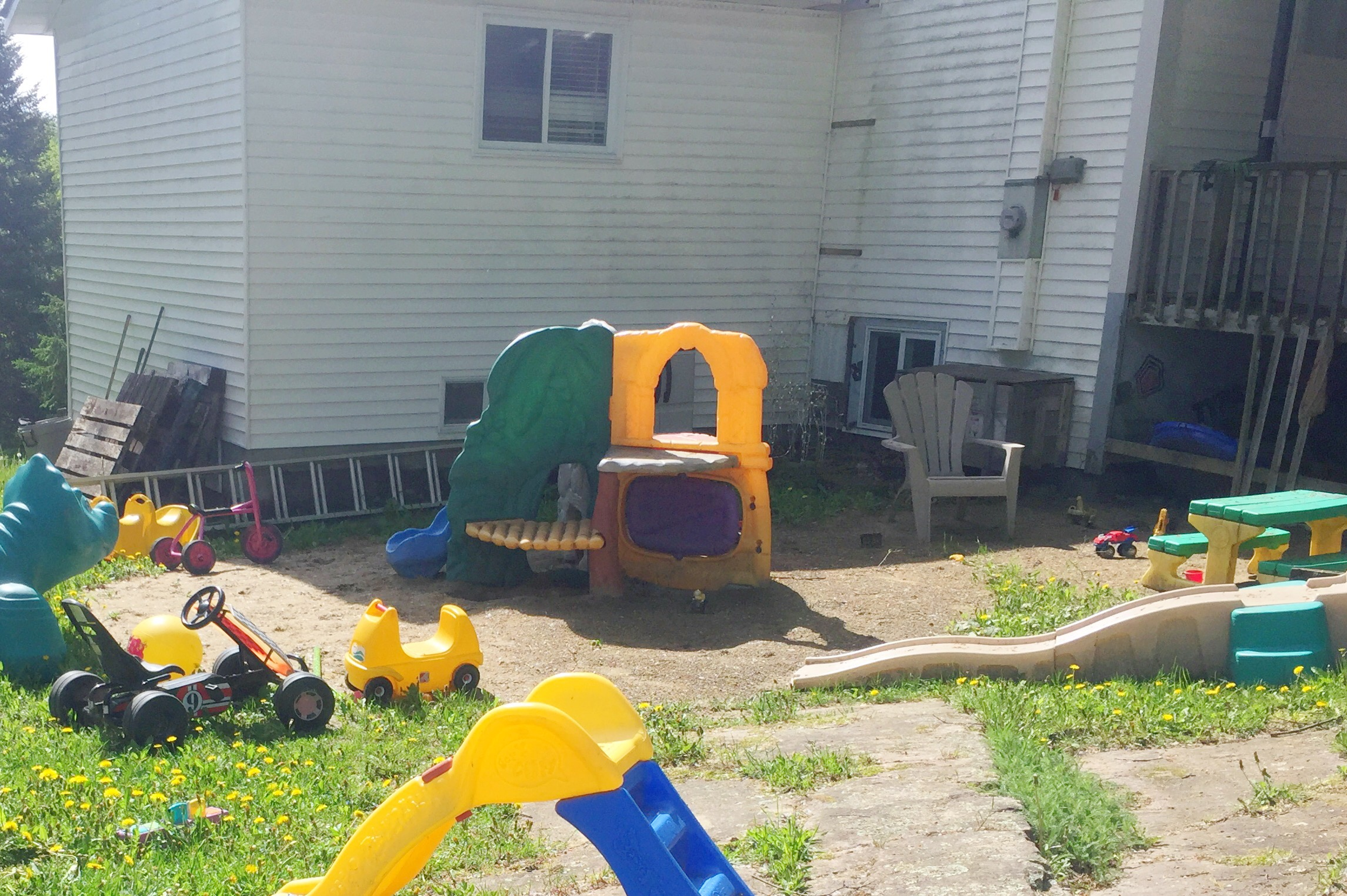 Playground Makeover – Before and After Part 1 Setting up an